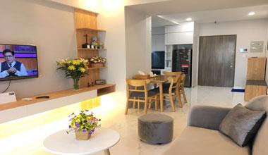 Cho Thuê căn Hộ Saigon Sought Residence - Phú Mỹ Hưng, View Sông- Full Nội Thất